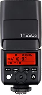 Godox TT350C Speedlight For Canon TTL HSS - Black