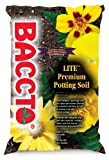 Michigan Peat 1460 Baccto Lite Premium Potting Soil, 8 Quarts