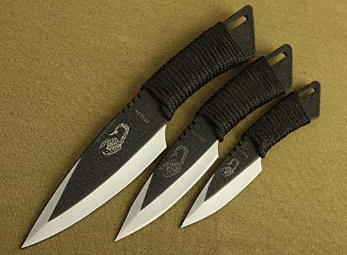 FARDEER Knife Cuchillo de Pesca de Cuchillo de Caza al Aire Libre XD09