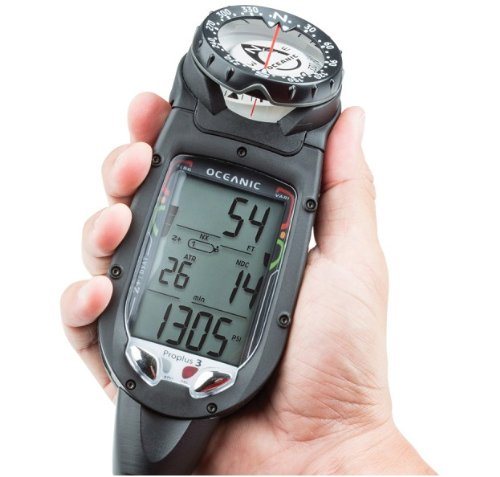 Oceanic Datamax Pro Plus 3.0 Air/Nitrox Integrated Dive Computer with Compass