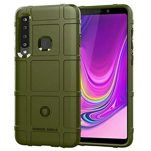 Capa traseira de gel de sílica ultrafina à prova de choque para Samsung Galaxy A9 2018 (Verde)