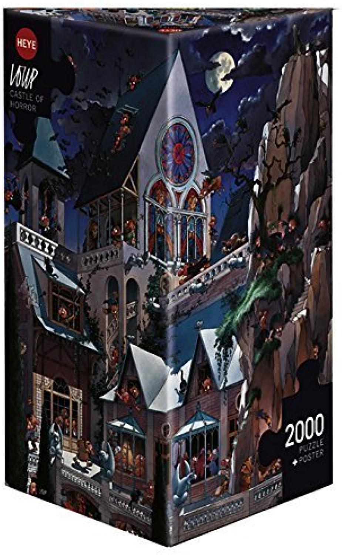 Paul Lamond Games - Castle Of Horror, 2000 Piece Jigsaw by Paul Lamond Games