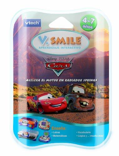 VTech V.Smile - Juego Educativo, Cars para V.S.Motion (80-084407)