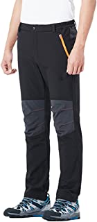 Qitun Mujer Hombre de Trekking Senderismo Impermeable Secado Rápido Deportivos Transpirable Pantalones