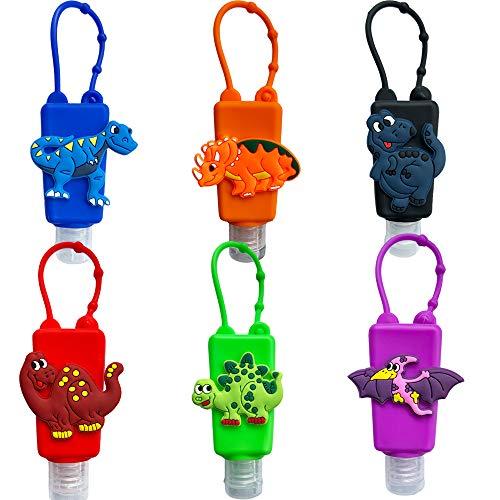 Ulife Mall 6 Piezas Botellas de Viaje Vacía para niños, 30