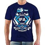 Männer und Herren T-Shirt W50 IFA Größe S - 8XL