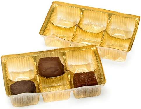 Great interest Pack of 200 Cheap SALE Start 4.5 X 2.75 1 Tra Rectangle Small Gold Candy Solid