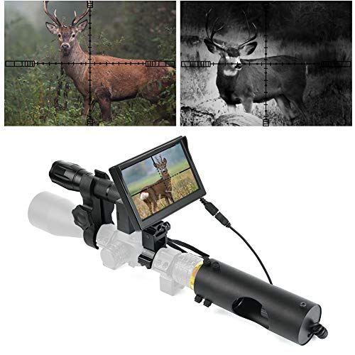 BESTSIGHT Night Vision Scope for riflescopes with Night Scope Hunting Camera and 5