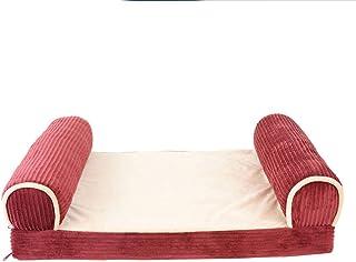 LIFEUWANG Pet Dog Bed, Pet Sofa Mattress, Large Dog, Dog Pad, Cat Pad (Size : L:112 * 82 * 27cm)