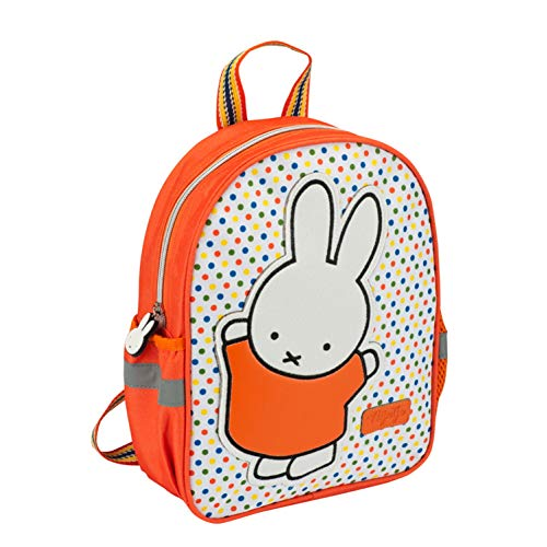 Princess Traveller Miffy Kinder-Rucksack, 30x24x9, orange