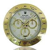 Ygccw Reloj de pared Rolex daytona reloj luminoso