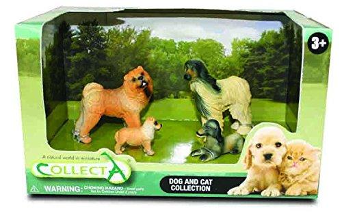 Collecta Hunde: Spielset in Geschenkbox 4-teilig