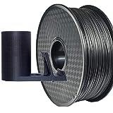 PRILINE Filamento de fibra de carbono PETG 1 kg 1,75 para impresora 3D, precisión dimensional +/- 0,03 mm, bobina de 1 kg, 1,75 mm, color negro