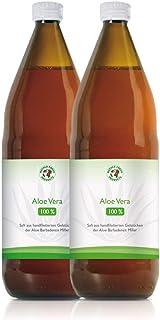 Jugo 100% orgánico de Aloe Vera | Fileteado a mano | Rico