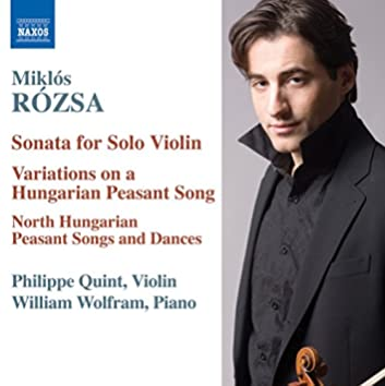 Rozsa: Music for Violin and Piano