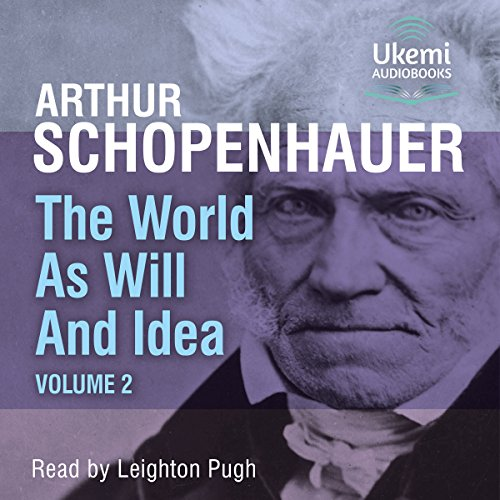 The World as Will and Idea, Volume 2 cover art