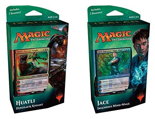 pequeño y compacto Magic The Gathering MTG – Random Ixalamp Rainswalker Deck 1 – Español