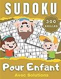 Sudoku Pour Enfant 300 Grilles: Sudoku Enfant  Jeux pour enfants - Entraîne la Mémoire et la Logique  Grilles classique 9x9 en gros caractère  300 Sudokus avec solutions  Grand format A4