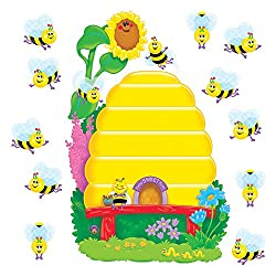 Busy Bees Job Chart Plus Bulletin Board Sets