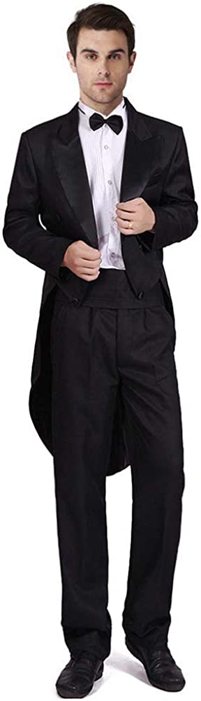 Men's Formalities Tuxedo Costume Hollywood Tailco Formal Vintage Al sold Max 73% OFF out.