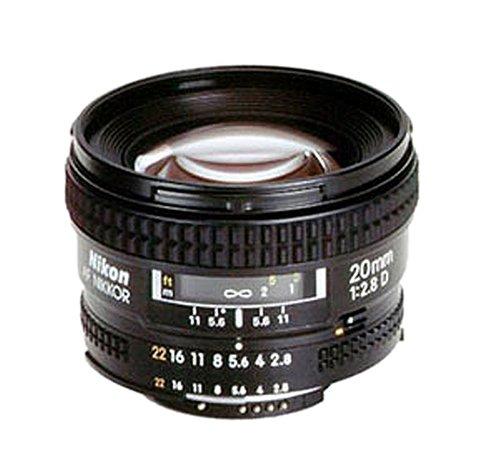 Nikon AF D 20/2.8 Nikkor Superweitwinkel-Objektiv (62mm Filtergewinde)