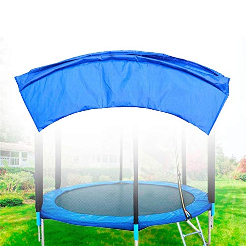 HKMA Bounce Superior Super Trampoline Reemplazo Safety Pad UV Resistente A UV Cubierta De Resorte Fits para Marcos Rectangulares Trampoline Surround Pad Blue,14 Feet