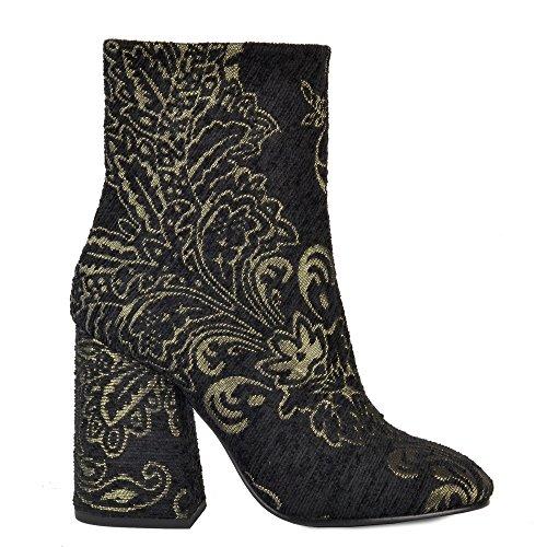 Ash Footwear Fedora Boots a Talons en Noir Femme Black 37