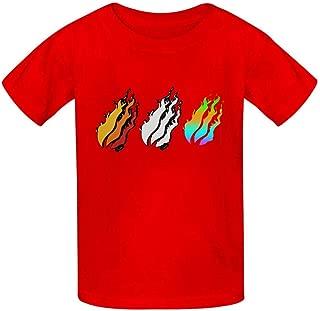 GUurtnQQ Preston-Playz Children T Shirt Boys and Girls Fashion Novelty Short Sleeve