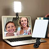 Taotuo Video Conference Lighting for Laptop Desktop Light for Computer Phone Remote Working Zoom Call Lighting Self Broadcasting and Live Streaming