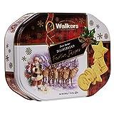 ウォーカー #1530 フェスティブシェイプショートブレッド缶 350g
