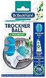 Dr. Beckmann Trockner Ball mit Wäscheduft Probiergröße, 8,7cm x 10,6cm x 18,2cm