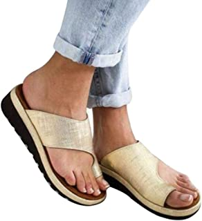 YWILLINK Women Comfy Platform Sandal Shoes Summer Beach Travel Shoes Women Sandals Ladies Summer Sandals Ladies Shoes