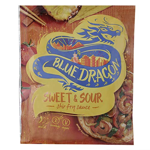BLUE DRAGON Salsa wok agridulce - Sweet & Sour- Sobre 120 g