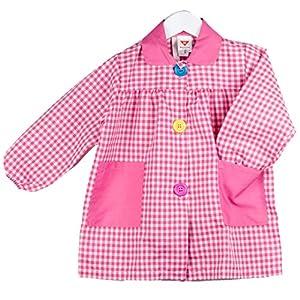 KLOTTZ - BABI CUADROS GUARDERIA Niñas color: FUCSIA talla: 5