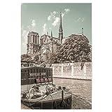 artboxONE Poster 75x50 cm Städte Notre-Dame   urbaner