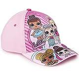 L.O.L. Surprise ! Gorra De Béisbol Premium para Niña   Gorras De Béisbol De Verano para Niñas   Producto Oficial para Niños De Los Accesorios De Las Muñecas (Rosa Claro)