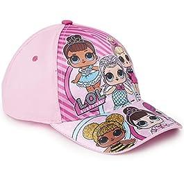 L.O.L. Surprise ! Casquette pour Fille LOL Dolls | Chapeau Protection Soleil Enfant avec Décoration Poupées, Licorne…