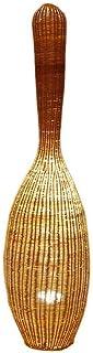 DIEFMJ Salon de thé Japonais rotin Bambou lampadaire créatif rétro décoration lampadaire Salon Salle à Manger E27 lampadaire
