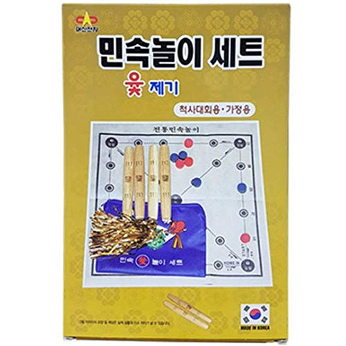 Daesin Toy Korean Board Game YUT Nori YUT Game Yoot Game Yutnori Set