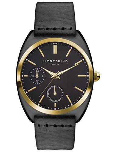 LIEBESKIND BERLIN Damen-Armbanduhr Analog Quarz, gold