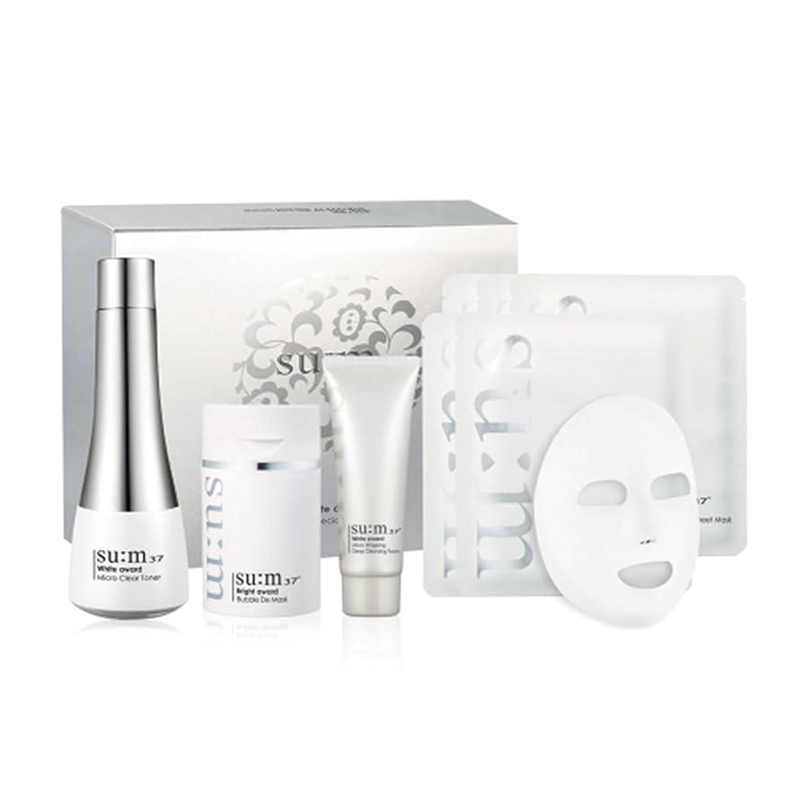 楽しませるバングスリム[su:m37/スム37°] Sum 37 Bubble DE Clearing Skin Special Set/Bubble DE クリアリング スキン スペシャル +[Sample Gift](海外直送品)