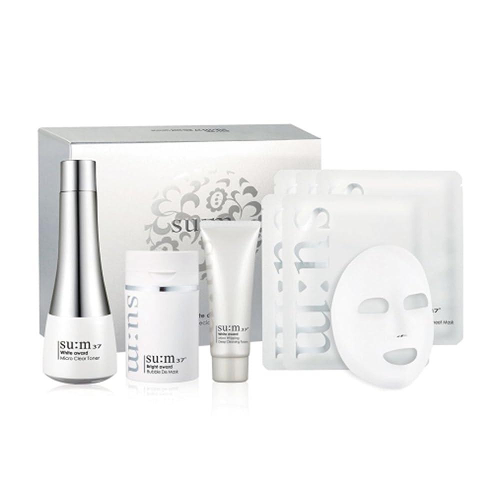 レパートリー検査ピラミッド[su:m37/スム37°] Sum 37 Bubble DE Clearing Skin Special Set/Bubble DE クリアリング スキン スペシャル +[Sample Gift](海外直送品)