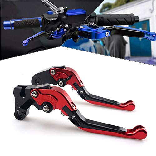 Motorcycle Adjustable Extendable Folding Brake Clutch Levers for Yamaha YZF R1 2004-2008 / YZF R6 2005-2016 / R6S CANADA VERSION 2006 / R6S EUROPE VERSION 2006-2007