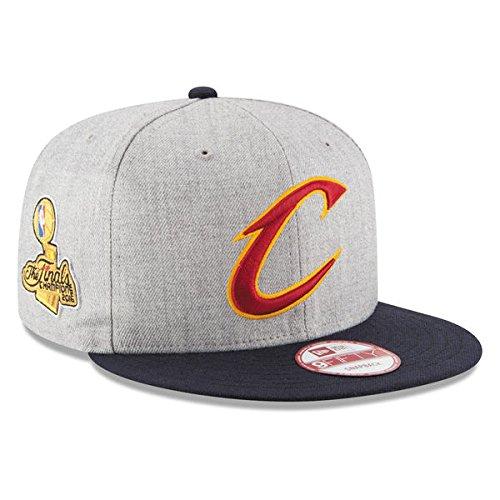 Amazon.com  Cleveland Cavaliers New Era Gray 2016 NBA Finals Champions  9FIFTY 950 Snapback Adjustable cap Hat Mens  Beauty 472674601bd