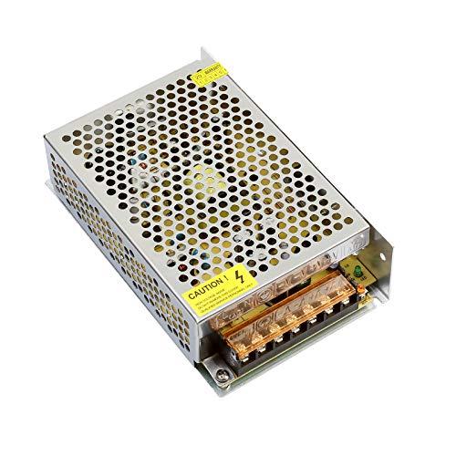 Redrex 12V 5A Fuente de Alimentación 60W Transformador para Impresoras 3D Tira LED Luces Proyecto Ordenador de Circuito Cerrado de Televisión