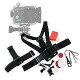 DURAGADGET Kit de Accesorios cámaras Deportivas PNJ CAM AEE S50 / S70 Pro/CAM ST4K / AEE S50+ / S70 Extrême 2 / S70 Light 2