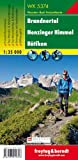 WK 5374 Brandnertal - Nenzinger Himmel - Rätikon, Wanderkarte 1:35.000 (freytag & berndt Wander-Rad-Freizeitkarten)