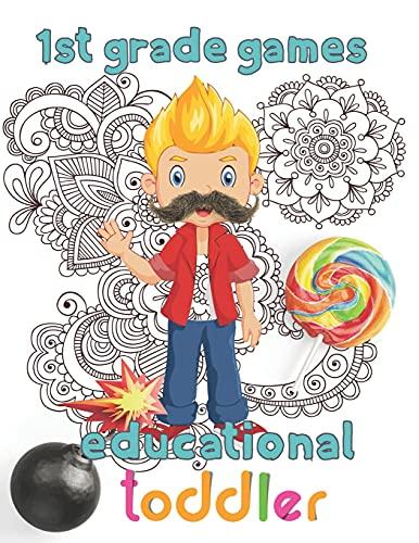 1st Grade games educational toddler: 8.5''x11''/1st grade math