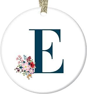 Best monogram snowman ornament Reviews