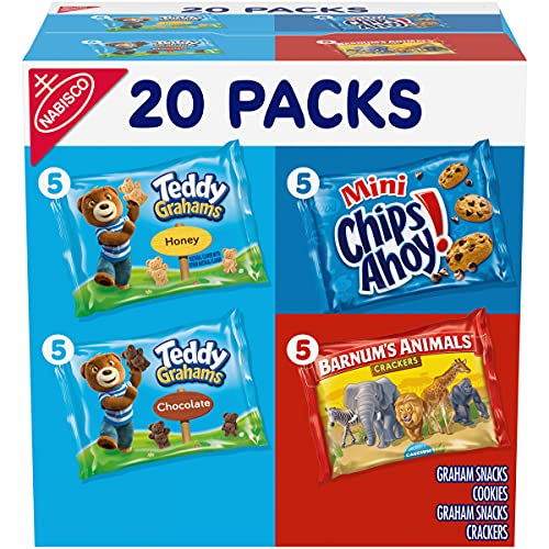Nabisco Team Favorites Mix Variety Pack 30-Count Now $6